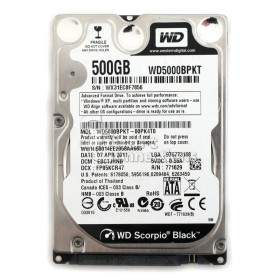 Harddisk Internal Komputer Western Digital Scorpio Black WD5000BPKT 500GB