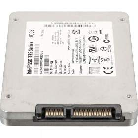 Harddisk Internal Komputer Intel SSD 335 Series 80GB
