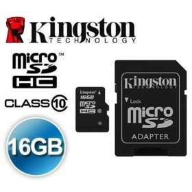 Memory Card / Kartu Memori Kingston microSDHC Class 10 16GB