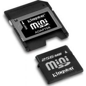 Memory Card / Kartu Memori Kingston miniSD 256MB