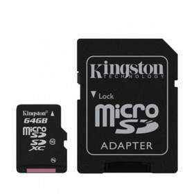 Kingston microSDXC Class 10 UHS-I 64GB