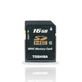 Toshiba SDHC 16GB Class 4