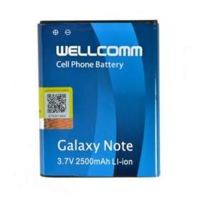 Baterai & Charger HP Wellcomm Battery For Samsung Galaxy Note 1