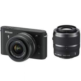 Mirrorless Nikon 1 J1 Kit 10-30mm + 30-110mm