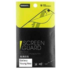 Tempered Glass HP Belpink Screen Guard Clear For Samsung Galaxy Young Neo