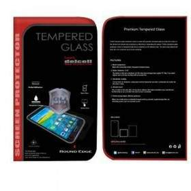 Tempered Glass HP Delcell Tempered Glass Round Edge For Samsung Galaxy Grand Prime