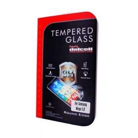 Tempered Glass HP Delcell Tempered Glass Round Edge For Samsung Galaxy Mega 5.8
