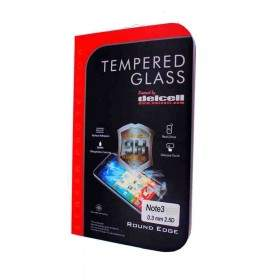 Tempered Glass HP Delcell Tempered Glass Round Edge For Samsung Galaxy Note 3