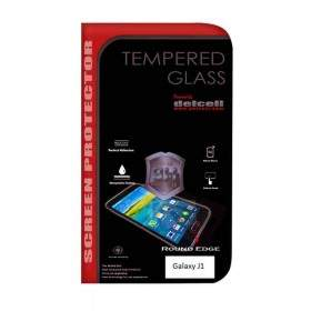 Tempered Glass HP Delcell Tempered Glass Round Edge For Samsung Galaxy J1