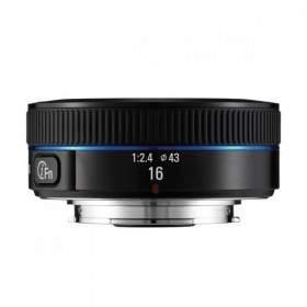 Lensa Kamera Samsung 16mm f / 2.4 Wide-Angle Pancake