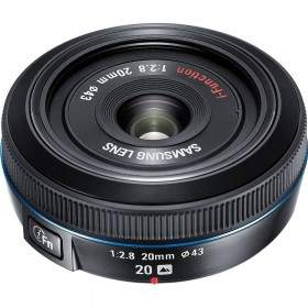 Lensa Kamera Samsung 16mm f / 2.8 Wide-Angle Pancake