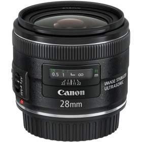 Lensa Kamera Canon EF 28mm f / 2.8 IS USM