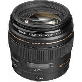 Lensa Kamera Canon EF 85mm f / 1.8 USM