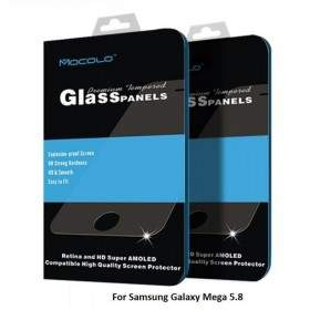 Tempered Glass HP Mocolo Tempered Glass Panel For Samsung Galaxy Mega 5.8