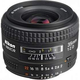 Lensa Kamera Nikon AF 35mm f / 2.0D