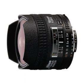 Lensa Kamera Nikon AF 16mm f / 2.8D Fisheye