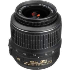 Lensa Kamera Nikon AF-S 18-55mm f / 3.5-5.6G VR