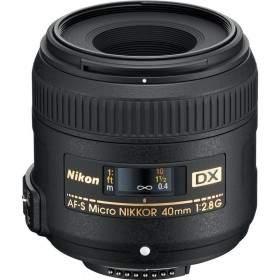 Lensa Kamera Nikon AF-S 40mm f / 2.8 G DX Micro