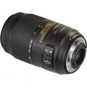 Lensa Kamera Nikon AF-S 55-300MM f / 4.5-5.6 G ED DX VR