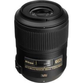 Lensa Kamera Nikon AF-S 85mm f / 3.5G ED DX VR Micro