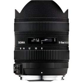 Lensa Kamera Sigma 8-16mm f / 4.5-5.6 DC HSM