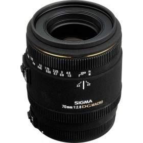 Lensa Kamera Sigma AF 70mm f / 2.8 EX DG Macro