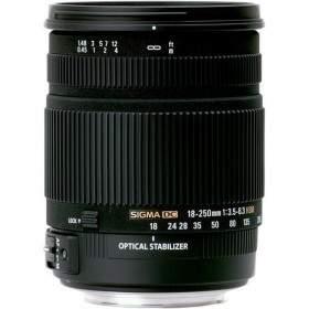 Lensa Kamera Sigma 18-250mm F / 3.5-6.3 DC OS HSM