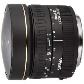 Lensa Kamera sigma 8mm f / 3.5 EX DG Circular Fisheye