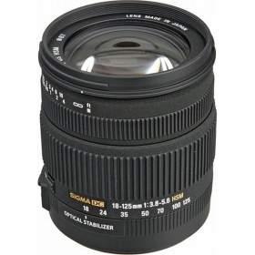 Lensa Kamera Sigma 18-125mm f / 3.5-5.6 DC