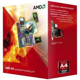 Processor Komputer AMD A4-3300 APU