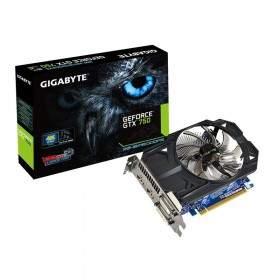 GPU / VGA Card Gigabyte GeForce GT750 GV-N750OC-2GI 2GB GDDR5