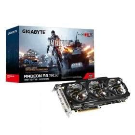GPU / VGA Card Gigabyte Radeon R9-280 GV-R928WF3OC-3GD 3GB GDDR5