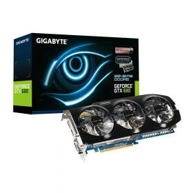 GPU / VGA Card Gigabyte GeForce GTX680 GV-N680OC-2GD 2GB GDDR5