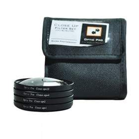 Filter Lensa Kamera OpticPro Close Up Kit 62mm