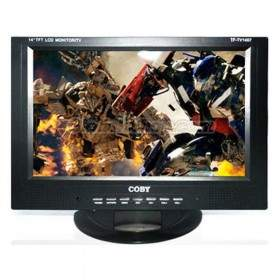 TV Coby 14 in. TF-TV1407
