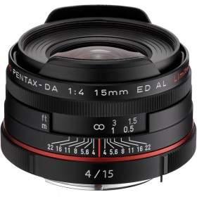Lensa Kamera Pentax HD DA 15mm f / 4 ED AL