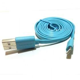 Kabel Data HP HIPPO Fast Charge Blue Lightning for iPhone / iPad