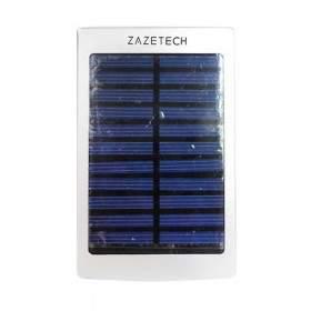 Power Bank ZAZETECH Solar Charger 6000mAh