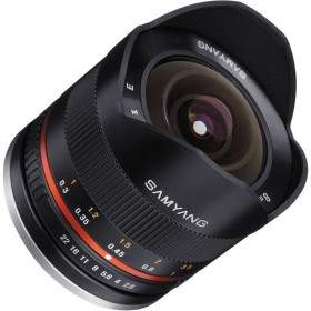 Lensa Kamera Samyang 8mm f / 2.8 UMC Fisheye II for Fujifilm