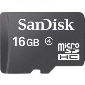Memory Card / Kartu Memori SanDisk microSDHC Class 4 16GB