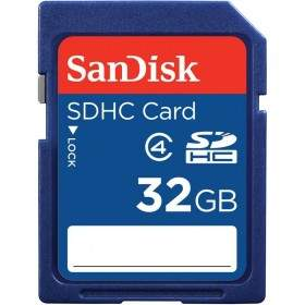 SanDisk SDHC Card Class 4 32GB