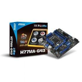 Motherboard MSI H77MA-G43