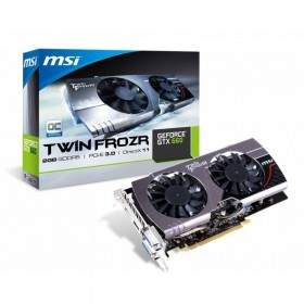GPU / VGA Card MSI N660 TF 2GB GDDR5