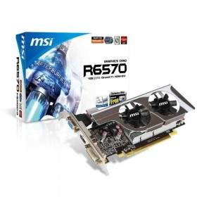 GPU / VGA Card MSI R6570-MD1GD3 / LP