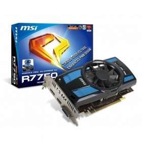 GPU / VGA Card MSI R7750 PE 1GB DDR5