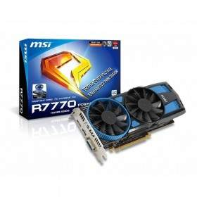 GPU / VGA Card MSI R7770 PE 1GB GDDR5