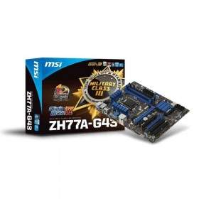 Motherboard MSI ZH77A-G43