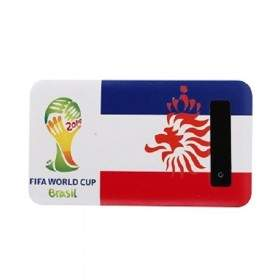 Power Bank Newtech Slim FIFA World Cup Netherland 6000mAh