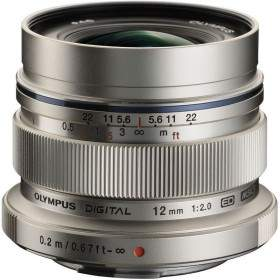 Lensa Kamera Olympus M.Zuiko ED 12mm f / 2.0