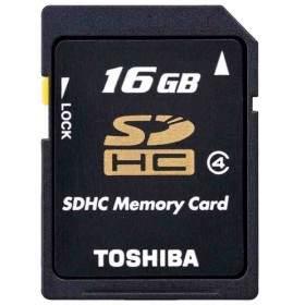 Memory Card / Kartu Memori Toshiba SDHC 16GB Class 4 K16GR7W4